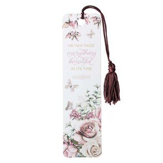 Bookmark - Everything Beautiful, Tassel