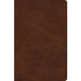 ESV Verse-By-Verse Reference Bible, Deep Brown TruTone