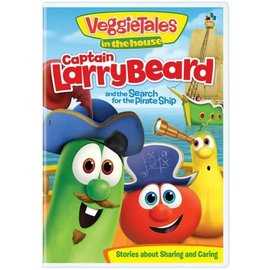 DVD - Veggie Tales: Captain LarryBeard and the Search for the Pirate Ship