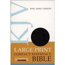 KJV Large Print Compact Reference Bible, Black
