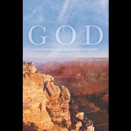 Bulletins: My Strength (2 Samuel 22:33 KJV)