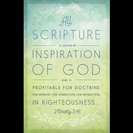 Bulletins: All Scripture (2 Timothy 3:16 KJV)