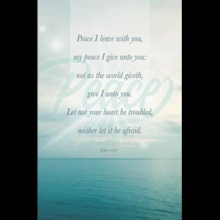 Bulletins: Peace I Leave (John 14:27 KJV)