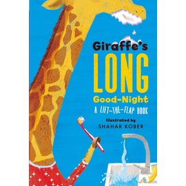 Giraffe's Long Good-Night, Lift-the-Flap Board Book