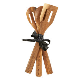 Wooden Spoon Set - Better Together, Mr. & Mrs.