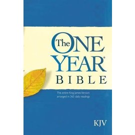 KJV One Year Bible, Paperback