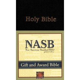 NASB Gift & Award Bible, Black Imitation Leather