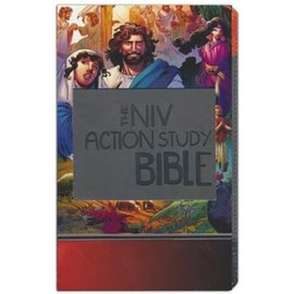 NIV Action Study Bible, Imitation Leather