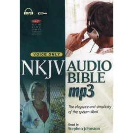 NKJV AudioBible, MP3 Voice-only