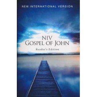 NIV Pocket Gospel of John, Reader's Edition, Paperback