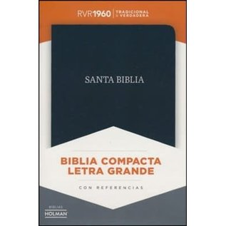 RVR Biblia Compacta Letra Grande (Large Print Compact Bible, Spanish)