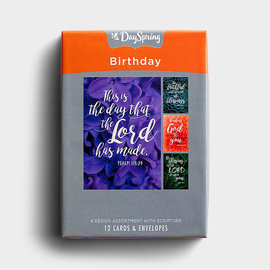 Boxed Cards - Birthday, Florals & Scripture