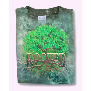 T-shirt - WD Rooted, Forest Green