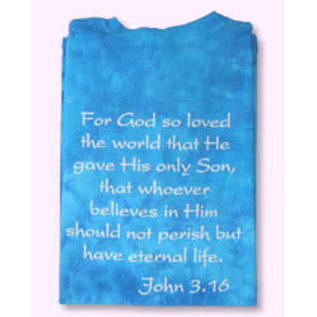 T-shirt - WD John 3:16 Hebrew