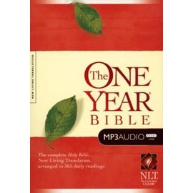 AudioBible - NLT One Year Bible (5 MP3 CDs)
