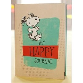 Journal - Peanuts, My Happy Journal