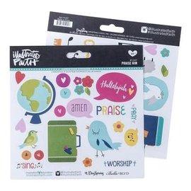Journaling Stickers - Praise Him