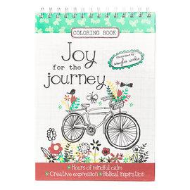 Coloring Book - Joy for the Journey, Wirebound