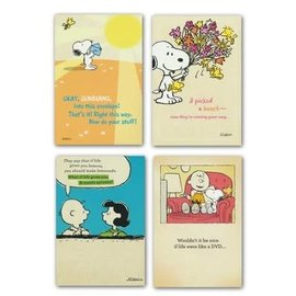 Boxed Cards - Get Well, Peanuts