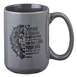 Mug - Be Strong, Lion