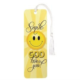 Bookmark - Smile, God Loves You!
