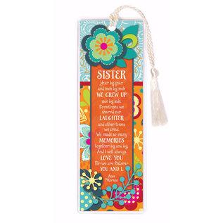 Bookmark - Sister, Flower