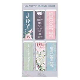 Magnetic Bookmarks -  Joy