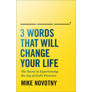 3 Words That Will Change Your Life (Mike Novotny), Paperback