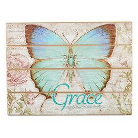 Wall Art - Grace Butterfly
