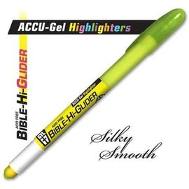 ACCU-Gel Highlighter - Yellow Bible Hi-Glider