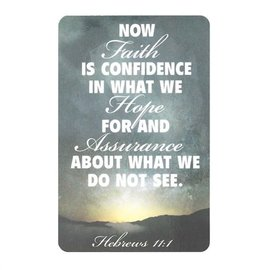 Pocket Card - Hebrews 11:1