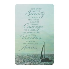 Pocket Card - Serenity Prayer