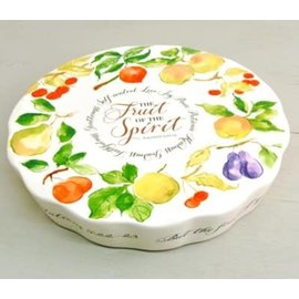 Dessert Serving Plate - Fruit of the Spirit