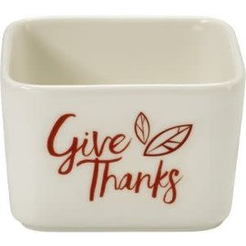 Small Dish  - Give Thanks