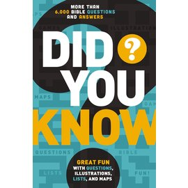 Did You Know? 6,000+ Bible Questions and Answers