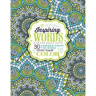 Coloring Book - Inspiring Words