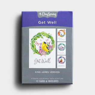 Boxed Cards - Get Well, Peace & Recovery