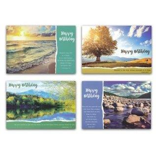 Boxed Cards - Birthday, God's Majesty