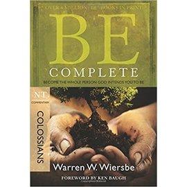 BE Complete: Colossians (Warren Wiersbe)