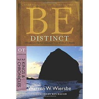 BE Distinct: 2 Kings, 2 Chronicles (Warren Wiersbe)