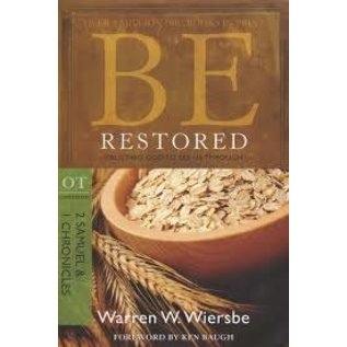 BE Restored: 2 Samuel, 1 Chronicles (Warren Wiersbe)