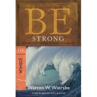 BE Strong: Joshua (Warren Wiersbe), Paperback