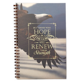 Notebook - Those who Hope in the Lord, Wirebound
