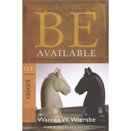 BE Available: Judges (Warren Wiersbe), Paperback