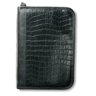 Bible Cover - Alligator, Black
