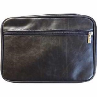 Bible Cover - Distressed Leather, Black