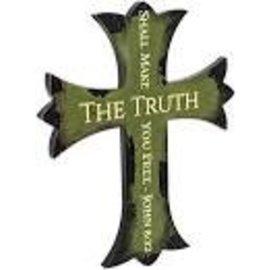Black Tip Cross The Truth Green