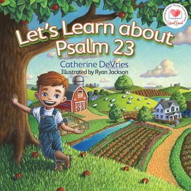 Board Book - Let's Learn About Psalm 23