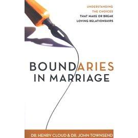 Boundaries in Marriage (Henry Cloud, John Townsend)