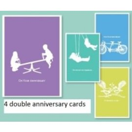 Boxed cards - Anniversary,  It Takes Two